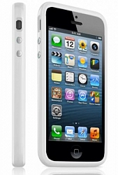 Бампер Apple MC597ZM/A для IPhone 5 / 5S White