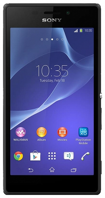 Sony Xperia M2 D2303 LTE Black РСТ
