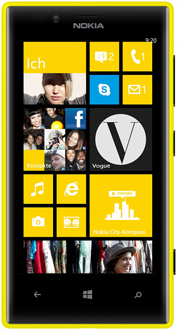 Nokia Lumia 720 Yellow