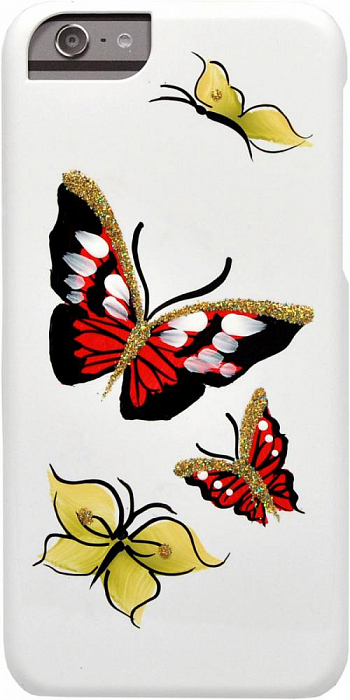 Накладка iCover для Sony Xperia Z1 Compact D5503 Hand Printing Butterfly Ruby