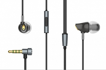 Наушники Rock Zircon Stereo Earphone Black