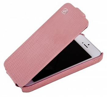 Чехол для Apple IPhone 5 Hoco Case Leather Case Pink