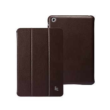 Чехол JisonCase Smart Leather Case Premium Edition для iPad mini Brown