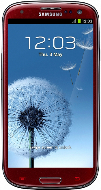 Samsung I9300 Galaxy S III 16Gb Red РСТ