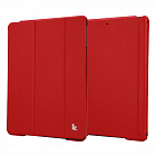 Чехол JisonCase Smart Leather Case Premium Edition для IPad Air Red