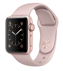 Смарт-часы Apple Watch Series 2 38mm with Sport Band MNNY2 Rose/Gold
