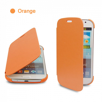 Чехол Flip Cover для Samsung Galaxy Grand i9082 Orange