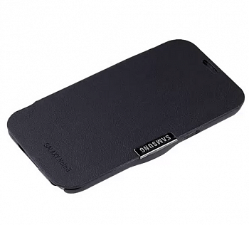Чехол Case with Stand для Samsung GALAXY Note II Black