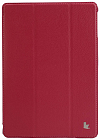 Чехол JisonCase Smart Leather Case для IPad Air Magenta