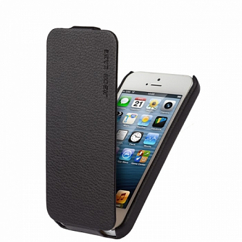 Чехол JISONCASE executive для iPhone 5/5S Black