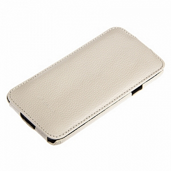 Чехол Melkco Leather Case для Samsung Galaxy S5 Mini G800 Jacka Type White