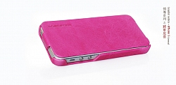 Чехол BOROFONE General leather case for IPhone 5 Pink