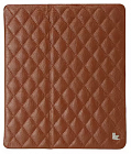 Чехол JisonCase Smart Leather Case Premium Edition для IPad Air со стёганым узором  Brown