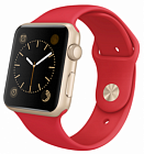 Apple Watch Sport 38mm with Sport Band MMEC2 Rose Gold/Red