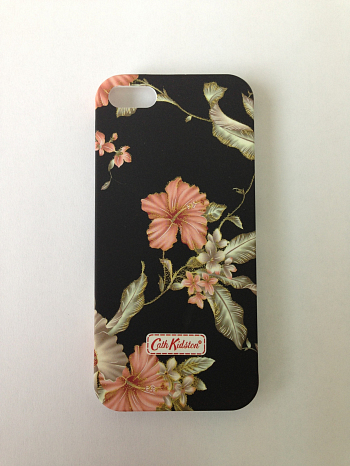 Чехол для Apple iPhone 5 Cath Kidston Lacquered Shell Case Flowers 3