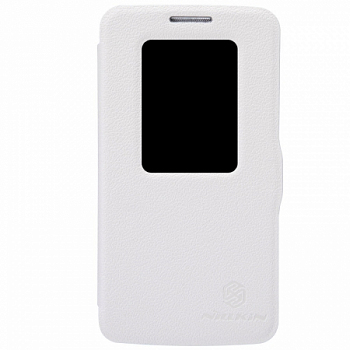Чехол Nillkin Fresh series leather case для LG G2 mini D618 White