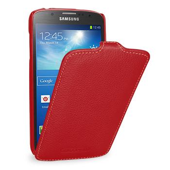 TETDED Premium Leather Case для Samsung Galaxy S4 / IV / I9500 / I9505 / Active I9295 i537 Troyes Red