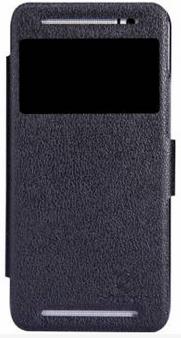 Nillkin Fresh series leather case для HTC One E8 Black