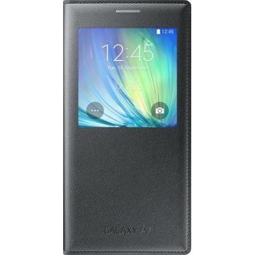 Samsung Flip Cover для Galaxy A7 A700 Black