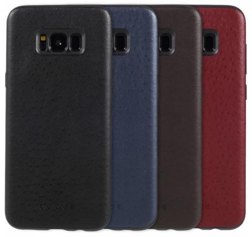 G-Case кожаная для Samsung Galaxy S8 G950FD Blue