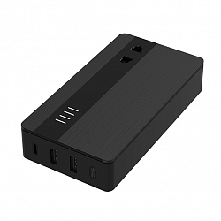 Гибридное зарядное устройство 3 в 1 Xiaomi Aigo Break Through The Three-In-One Hybrid Charger 5000 Mah 18 Вт Black