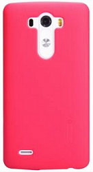 Чехол Nillkin Super Frosted Shield для LG G3 D855/D856 Red