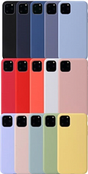 Накладка Silicon Case для Iphone 12 mini Голубой