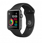 Apple Watch Series 2 38mm (MP0D2) (Space Gray Aluminum Case with Black Sport Band)