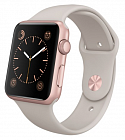 Apple Watch Sport 42mm with Sport Band MLC62 Rose Gold