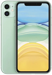 Мобильный телефон  Apple iPhone 11 128GB (MWM62RU/A) Green РСТ