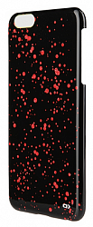 Чехол OXO Cover Case для Iphone 6 4.7 glitters Black