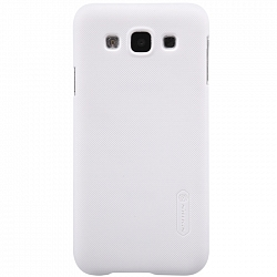 Чехол Nillkin Super Frosted Shield для Samsung Galaxy E5 E500H White