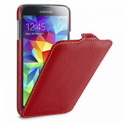 Чехол Melkco Leather Case для Samsung Galaxy S5  G900f  Jacka Type Red