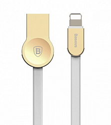 Кабель Baseus Lightning CALKB-02 120см для Iphone Gold/White