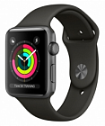 Apple Watch Series 3 38mm Aluminum Case with Sport Band MR352 Grey