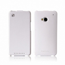 Чехол Hoco Royal Series Duke Leather case for HTC One White