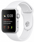 Apple Watch 42mm with Sport Band MJ3V2 White Silver