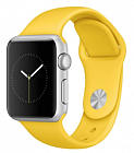 Apple Watch Sport 38mm with Sport Band MMF02 Silver/Yellow