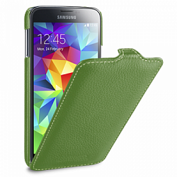 Чехол Melkco Leather Case для Samsung Galaxy S5 G900f  Jacka Type Green
