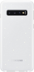 Чехол Samsung EF-KG973CWEGWW Led Back Cover для Samsung Galaxy S10 G973FD White