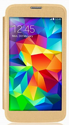 Чехол Devia Panoramic Series для Samsung Galaxy S5 G900 Gold