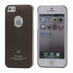 Чехол Power Support Air Jacket for iPhone 5 / 5S Brown