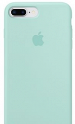 Накладка Silicon Case для Iphone 7 Plus/Iphone 8 Plus Marine Green