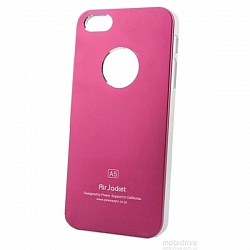 Чехол Power Support Air Jacket for iPhone 5 / 5S Pink