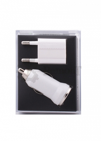 Комплект 3 в 1 (АЗУ/СЗУ/USB) для Apple  iphone 5/ ipad 4 / ipad mini  / ipod nano 7