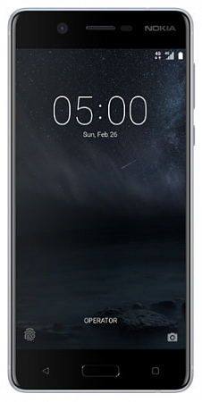 Nokia 5 16GB Dual Silver РСТ