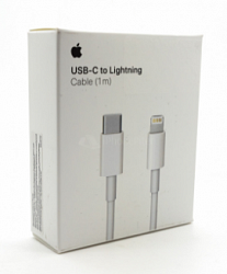 Кабель Apple Type-C - Lightning 1m MK0X2ZM/A White