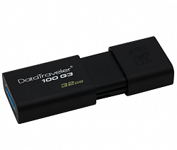 Kingston 32GB USB 3.0 Data Traveler DT100-G3 Black