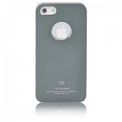 Чехол Power Support Air Jacket for iPhone 5 / 5S Grey