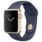 Apple Watch Series 2 38mm Aluminum Case with Sport Band (MQ132) Gold Al/Blue